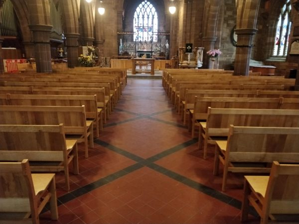 Pew Seating @ St Mary's Church Handsworth