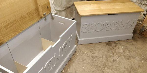 Named Toy Box Storage