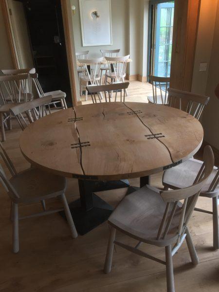 Waney Edge Round Table